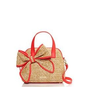 Kate Spade Belle Place Straw - Small Crossbody